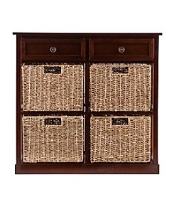 Southern Enterprises Amory 4-Basket Storage Chest