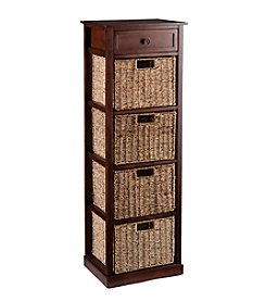 Southern Enterprises Amory 4-Basket Storage Tower