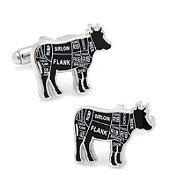 Cufflinks Inc. Men's Beef Butcher Cuts Cufflinks