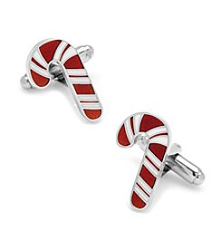 Cufflinks Inc. Men's Candy Cane Cufflinks