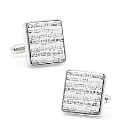 Cufflinks Inc. Men's Classical Sheet Music Cufflinks