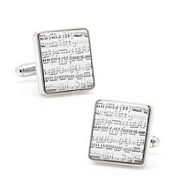 Cufflinks Inc. Men's Classical Sheet Music Cufflinks