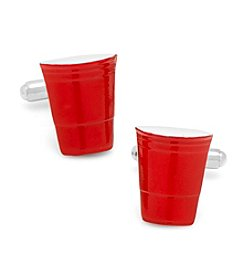 Cufflinks Inc. Men's Red Party Cup Cufflinks