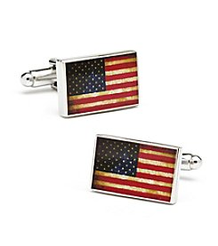 Cufflinks Inc. Men's Vintage USA Flag Cufflinks