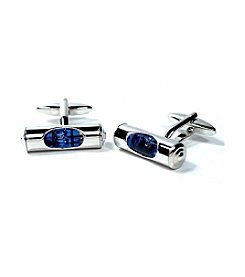 Cufflinks Inc. Men's Blue Level Cufflinks