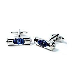Cufflinks Inc. Men's Blue Level Cufflinks