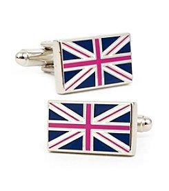 Cufflinks Inc. Men's British Flag Cufflinks