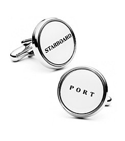Cufflinks Inc. Men's Starboard and Port Cufflinks