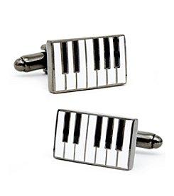 Cufflinks Inc. Men's Enamel Piano Cufflinks