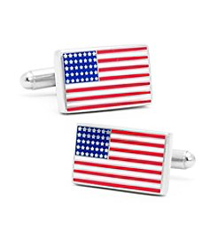 Cufflinks Inc. Men's American Flag Cufflinks