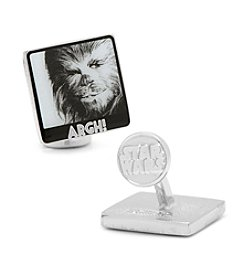 Star Wars™ Men's Chewbacca Argh! Cufflinks