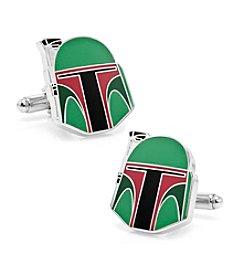 Star Wars™ Men's Star Wars Boba Fett Helmet Cufflinks