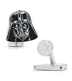 Star Wars® Men's Star Wars Darth Vader Head Cufflinks