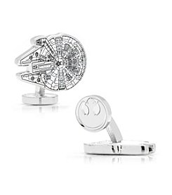 Star Wars™ Men's Millenium Falcon Blueprint Cufflinks