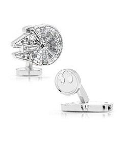 Star Wars™ Men's Millenium Falcon Blueprint Cufflinks