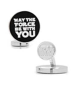 Star Wars™ Men's May the Force Be With You Cufflinks