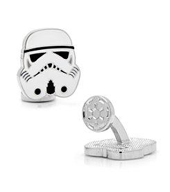 Star Wars® Men's Storm Trooper Head Cufflinks