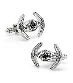 Star Wars® Men's Darth Vader TIE Starfighter Blueprint Cufflinks