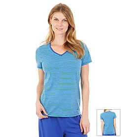 Nautica® Striped Lounge Top