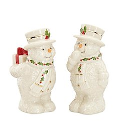 Lenox® Snowman Salt & Pepper Set