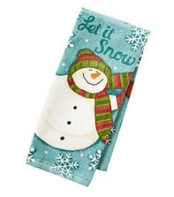 Ritz™ Snowy Friends Snowman Kitchen Towel