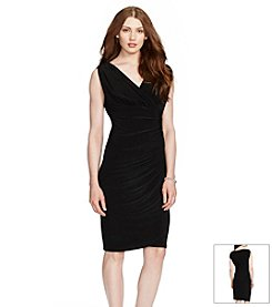 Lauren Ralph Lauren® Ruched Jersey Dress