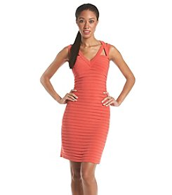 Adrianna Papell® Banded Cutaway Dress