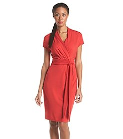 Adrianna Papell® Belted Wrap Dress
