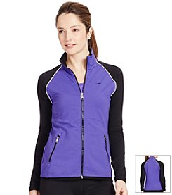 Lauren Active® Two-Toned Track Jacket