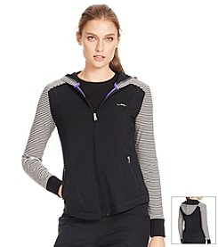 Lauren Active® Stretch-Jersey Hoodie