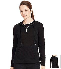 Lauren Active® Quilted Half-Zip Hoodie