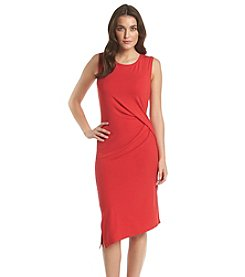 MICHAEL Michael Kors® Crewneck Drape Dress