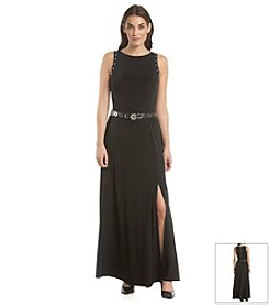 MICHAEL Michael Kors® Belted Maxi Dress