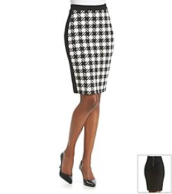 MICHAEL Michael Kors® Patterned Pencil Skirt