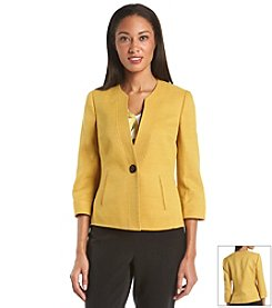 Kasper® One Button Stretch Jacket