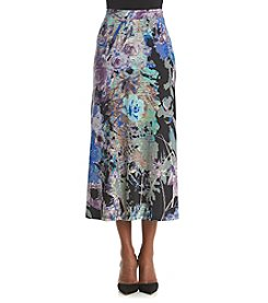 Kasper® Printed Skirt