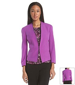 Nine West® Collarless Jacket