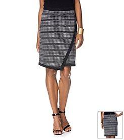 Rafaella® Jaquard Ponte Skirt
