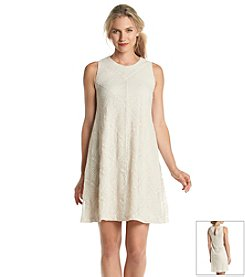 Jessica Howard® Lace Trapeze Dress