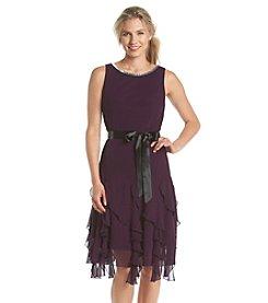 MSK® Jeweled Waterfall Skirt Dress