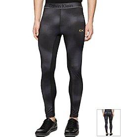 Calvin Klein Performance Men's Mixed Media Compression Pants