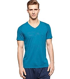 Calvin Klein Performance Men's Short Sleeve V-Neck Shadow Print Tee