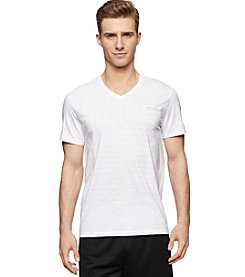 Calvin Klein Performance Men's Short Sleeve V-Neck Sound Wave Tee