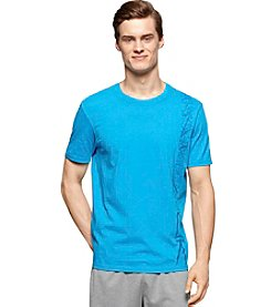 Calvin Klein Performance Men's Short Sleeve Geo Side Body Print