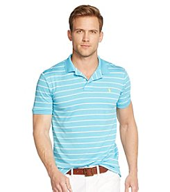 Polo Ralph Lauren® Men's Active Short Sleeve Stripe Polo