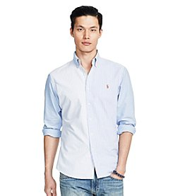 Polo Ralph Lauren® Men's Long Sleeve Color Block Button Down Shirt