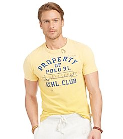 Polo Ralph Lauren® Men's Short Sleeve Crewneck Property Of Polo Tee
