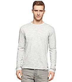 Calvin Klein Jeans Men's Long Sleeve Crewneck Tee