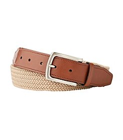 John Bartlett Statements Men's Braided Stretch Belt