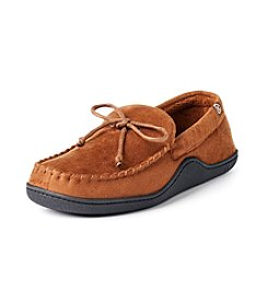 Isotoner Signature® Men's Microsuede Plaid Moccasin